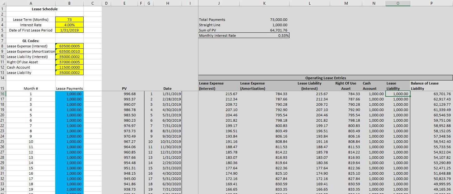 Excel Solution 842lease Com Lease payment calculator excel template
